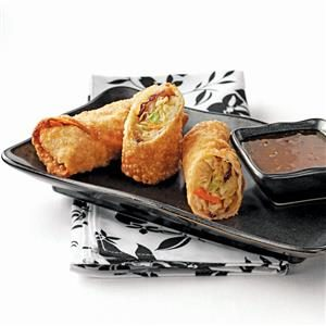 Teriyaki Egg Rolls Recipe