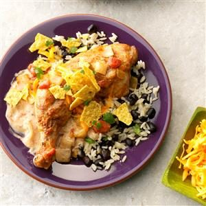 Tex-Mex Chicken with Black Beans & Rice Recipe