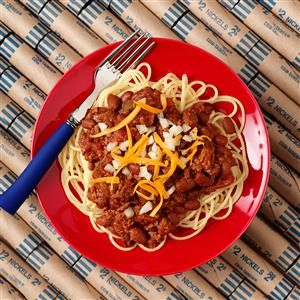 Tex-Mex Chili with a Cincinnati Twist