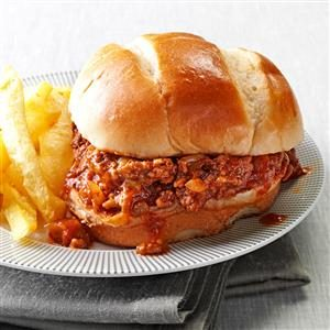Tex-Mex Sloppy Joes Recipe photo by Taste of Home