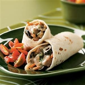 Texas Pork Burritos