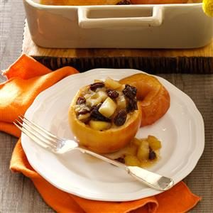 Thanksgiving Baked Apples