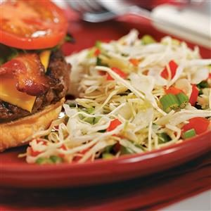 Three-Pepper Coleslaw Recipe