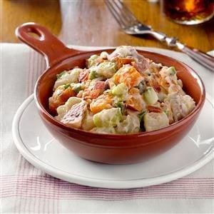 Three Potato and Onion Salad Recipe