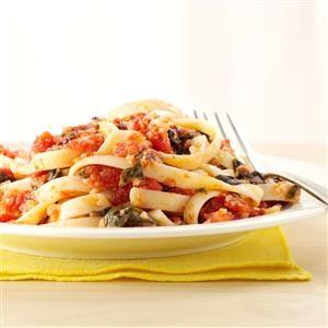 Three-Vegetable Pasta Sauce Recipe
