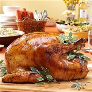 Thyme Roasted Turkey Recipe