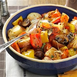 Thyme-Roasted Vegetables Recipe