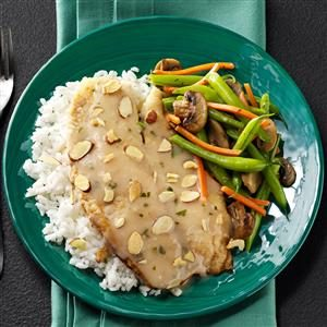 Tilapia & Lemon Sauce Recipe