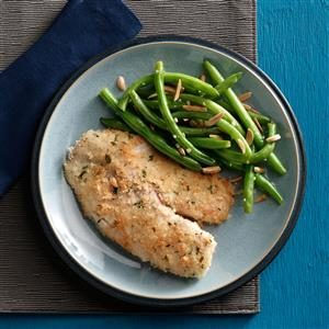 Tilapia with Green Beans Amandine