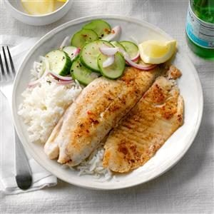 Tilapia with Jasmine Rice Recipe