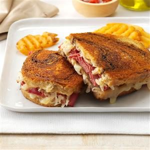 Toasted Reubens Recipe