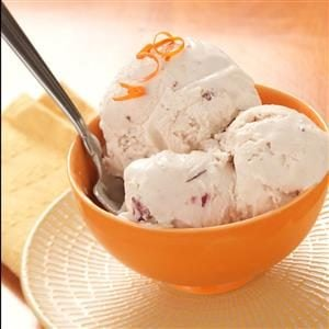 Toasted Walnut Orange Ice Cream Recipe