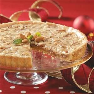 Toffee Almond Tart Recipe