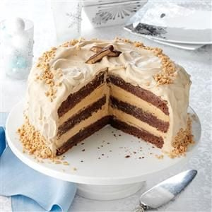 Toffee Bar Brownie Torte Recipe