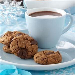 Toffee Coffee Cookies Recipe