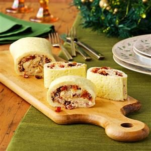Tomato & Bacon Brunch Roulade Recipe