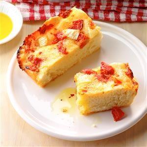 Tomato & Brie Focaccia Recipe