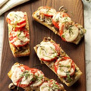 Tomato Baguette Pizza Recipe
