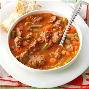 Tomato Hamburger Soup Recipe