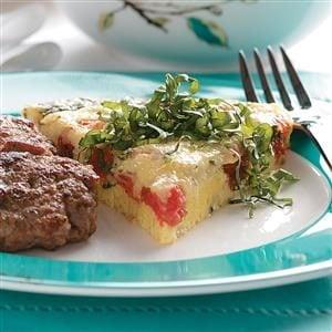 Tomato Herb Frittata Recipe