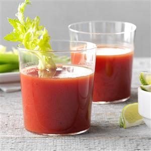 Tomato-Lime Sipper Recipe