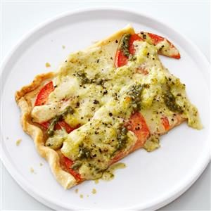 Tomato Pesto Tart Recipe