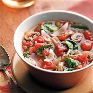 Tomato Spinach Soup Recipe