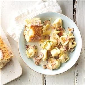 Tortellini Carbonara Recipe