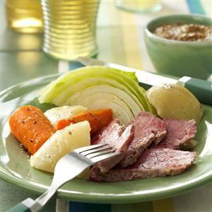 Traditional Boiled Dinner Recipe