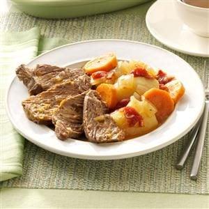 Traditional Yankee Pot Roast Recipe