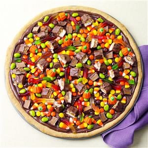 Trick-or-Treat Pizza Recipe