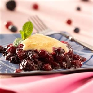 Triple-Berry Cobbler Recipe