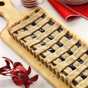 Triple Berry Linzer Tart Recipe