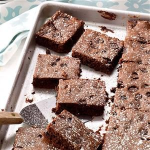 Triple Fudge Brownies Recipe