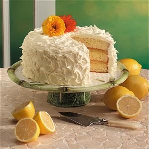 Triple-Layer Lemon Cake