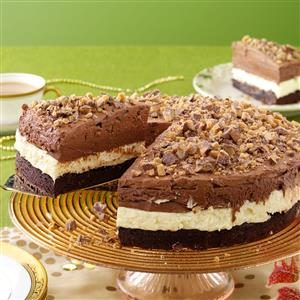 Triple Mousse Torte Recipe
