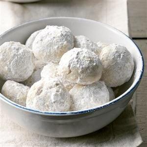 Triple Nut Snowballs