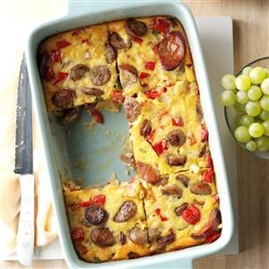Triple Sausage Breakfast Bake