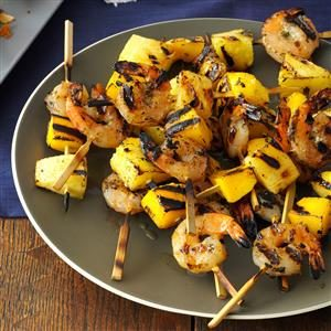 Tropical Island Shrimp Kabobs