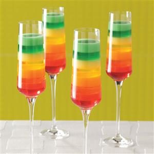 Tropical Rainbow Dessert