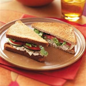 Tuna Caesar Sandwiches Recipe