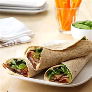 Turkey & Apricot Wraps Recipe