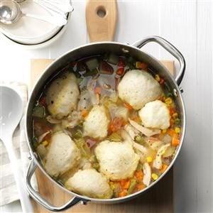 Turkey & Dumpling Soup Recipe