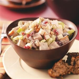 Turkey & Fruit Salad