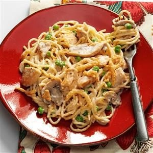 Turkey Alfredo Tetrazzini Recipe