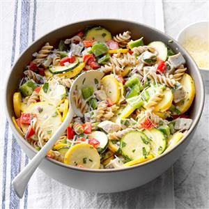 Turkey and Pasta Ranch Salad