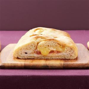 Turkey-Brie Stromboli Recipe