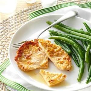 Turkey Cutlets in Lemon Wine Sauce Recipe
