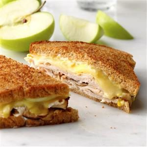 Turkey Dijon Melts