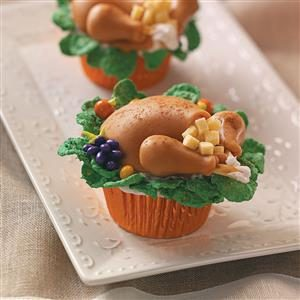 recipe: thanksgiving dinner cupcakes [4]